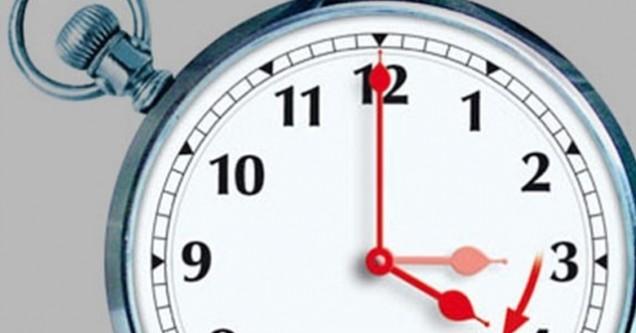 Saatler  haftasonu  ileri alınacak