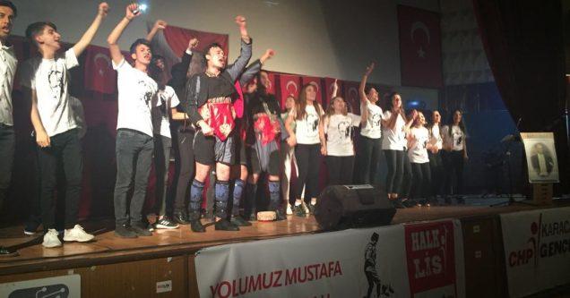 """Mustafa Kemal Samsun Yolu'nda"" alkışlarla!"