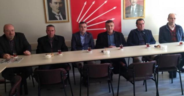 Ova Köyleri Sulama Birliği'nden CHP'ye ziyaret