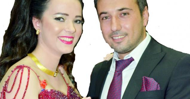 Melike ve Harun görkemli bir törenle nişanlandı