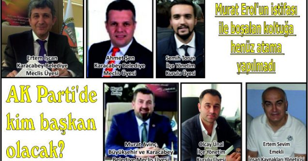 AK Parti'de kim başkan olacak?
