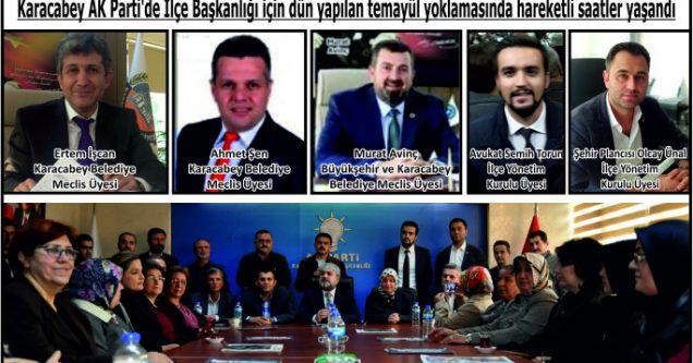 AK Parti'de ilçe başkanı heyecanı!