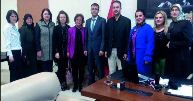 AK Kadınlar'dan Başhekim Balcı'ya 'Hayırlı olsun' ziyareti