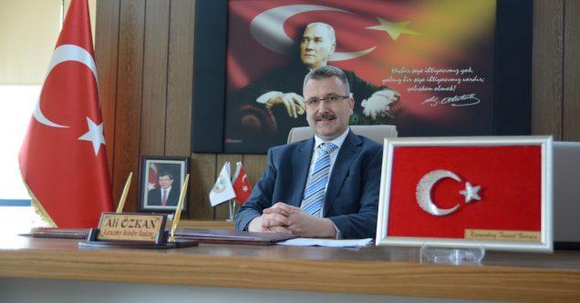 Başkan Özkan, 30 Ağustos Zafer Bayramı'nı Kutladı