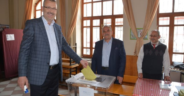Başkan Özkan'dan referandum mesajı