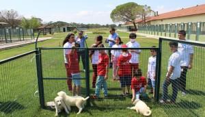LÖSEV'li çocuklar, 'Hayvan dostu Karacabey'e hayran kaldı'