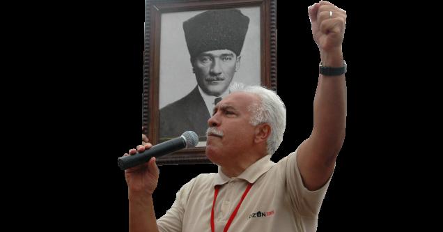 """Perinçek;  """"2019 yılında  Türkiye yeniden  Atatürk  cephesinde  olacak """""""