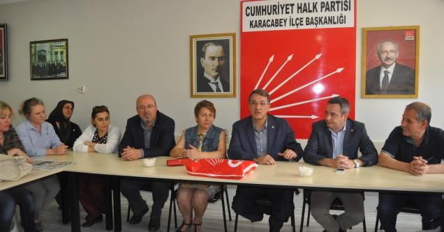 Milletvekili İrgil, 'Karacabey'in sorunlarını Meclis'e taşıyacağım'