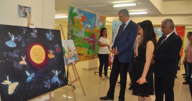 Halk Eğitim'in Resim Sergisi büyük beğeni topladı