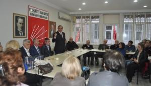 Şenyurt'dan CHP'ye ziyaret