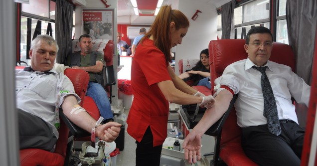 Kan  bağışına  ilgi  sevindirdi!