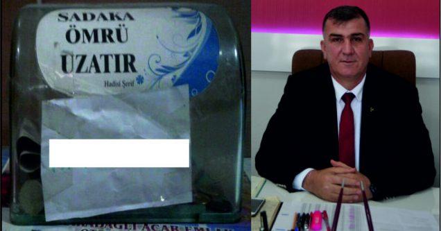MHP'li Erol sadaka kutularını sorguladı!