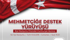Karacabey Cumartesi Mehmetçik için yürüyecek!