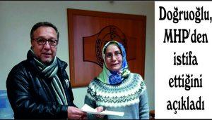 Doğruoğlu, MHP'den istifa ettiğini açıkladı