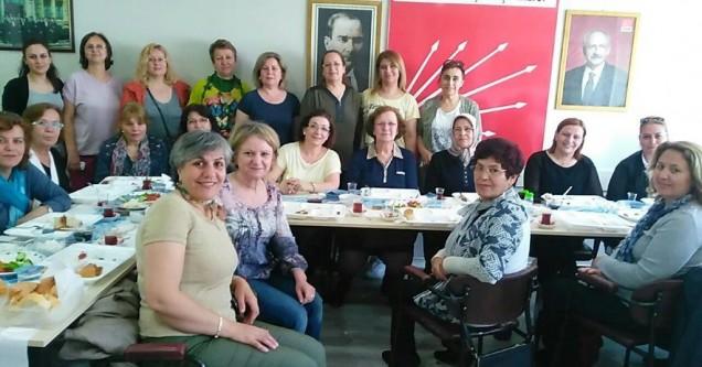 CHP'li anneler kahvaltıda buluştu