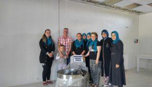 Erdem'den üretici kadınlara büyük destek