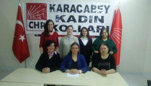 CHP Kadın Kolları'nda  Göndük dönemi