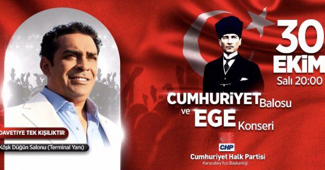"""""""CHP'den Cumhuriyet Balosu Etkinliği"""""""
