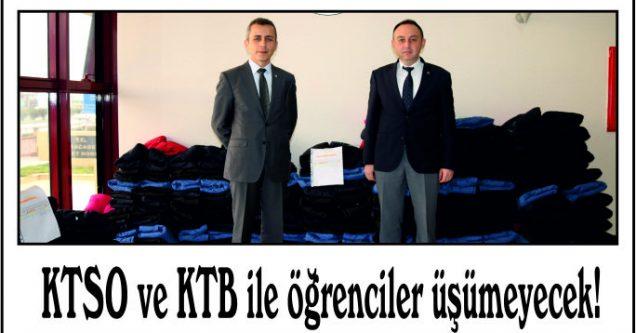 KTSO ve KTB sayesinde öğrenciler üşümeyecek!