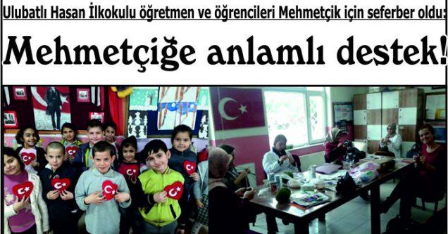 Mehmetçiğe anlamlı destek!