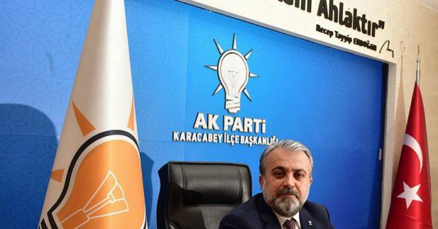 'Milletin AK Partisi 15 yıldır iktidarda'