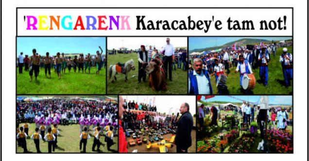 'Rengarenk Karacabey'e tam not!