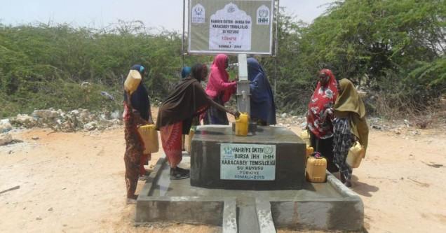 İHH'nın Su Kuyusu Somali'ye umut oldu