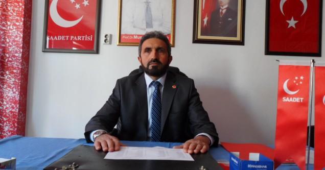 'Milletin sorunları  Saadet Partisi'yle çözülecek