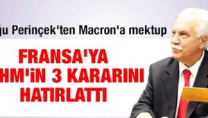 Perinçek'ten Macron'a mektup!