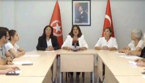 """""""Türk kadını kafese giremez"""""""