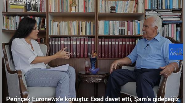 """PERİNÇEK, """"ESAD DAVET ETTİ, ŞAM'A GİDECEĞİZ"""""""