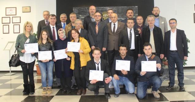 Yeni girişimciler sertifikalarını aldı