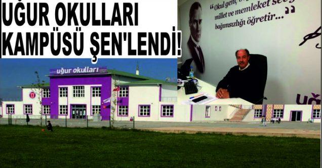 UĞUR OKULLARI KAMPÜSÜ ŞEN'LENDİ!