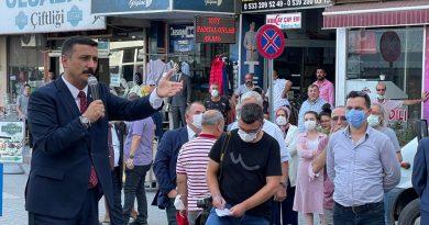 Türkoğlu, Karacabey Meydanı'dan Ali Özkan'a seslendi