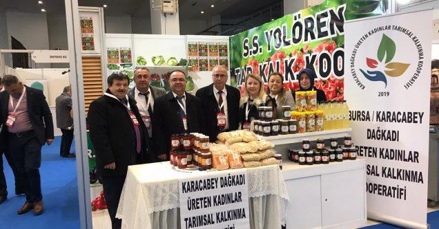 ÜKAD, Karacabey'i Türkiye Kooperatifler Fuarı'nda gururla temsil etti