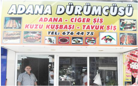 Adana Dürümcüsü'ne uğramadan geçmeyin!