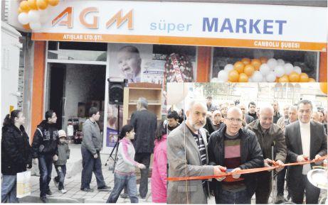 AGM Süpermarket dördüncü şubesiyle hizmetinizde!