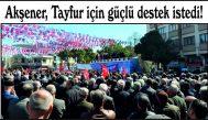 Akşener, Tayfur için güçlü destek istedi!