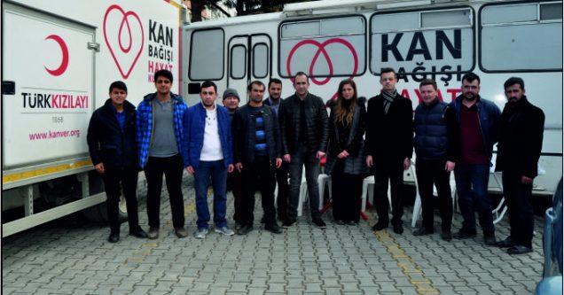 AK Gençlik'ten Mehmetçik için kan bağışı