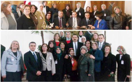 """AK kadınların """"Başkent"""" çıkarması"""