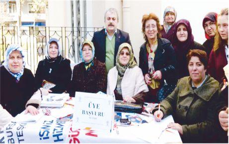 AK Partililer üye topluyor!
