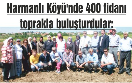 AK Partililerin ağaç sevgisi