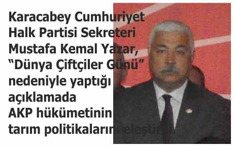 AKP, çiftçisini perişan etti