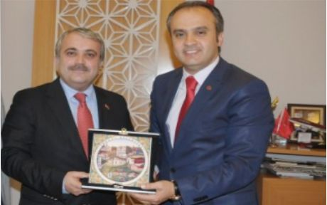AKP'den İnegöl'e ziyaret