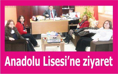AKP'li bayanlardan Anadolu Lisesi'ne ziyaret