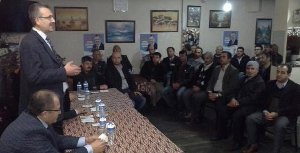 Ali Özkan ziyaretlerini sürdürüyor