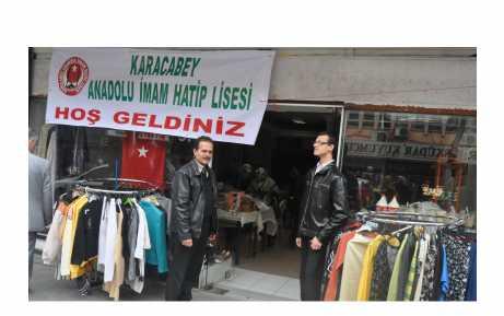 Anadolu İmam Hatip'ten kermes
