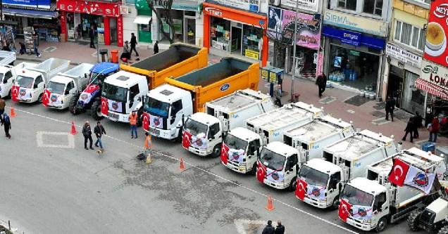 Belediye, araç filosunu güçlendirdi