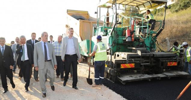 Büyükşehir,  Karacabey'deki asfaltlama çalışmalarına başladı