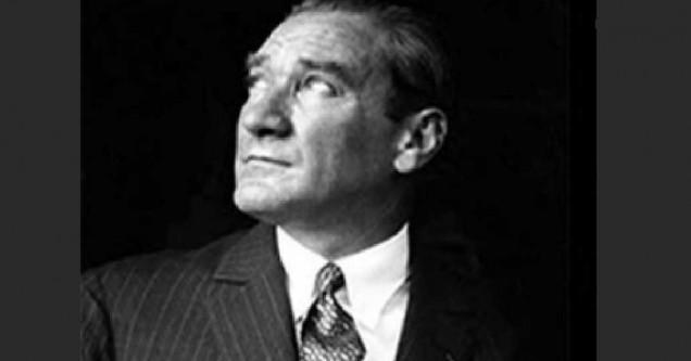 Ulu Önder Atatürk saygıyla anılacak